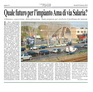 LA VOCE  24 febbraio 2014 pg 14